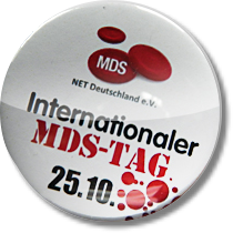 Button zum Internationalen MDS-Tag